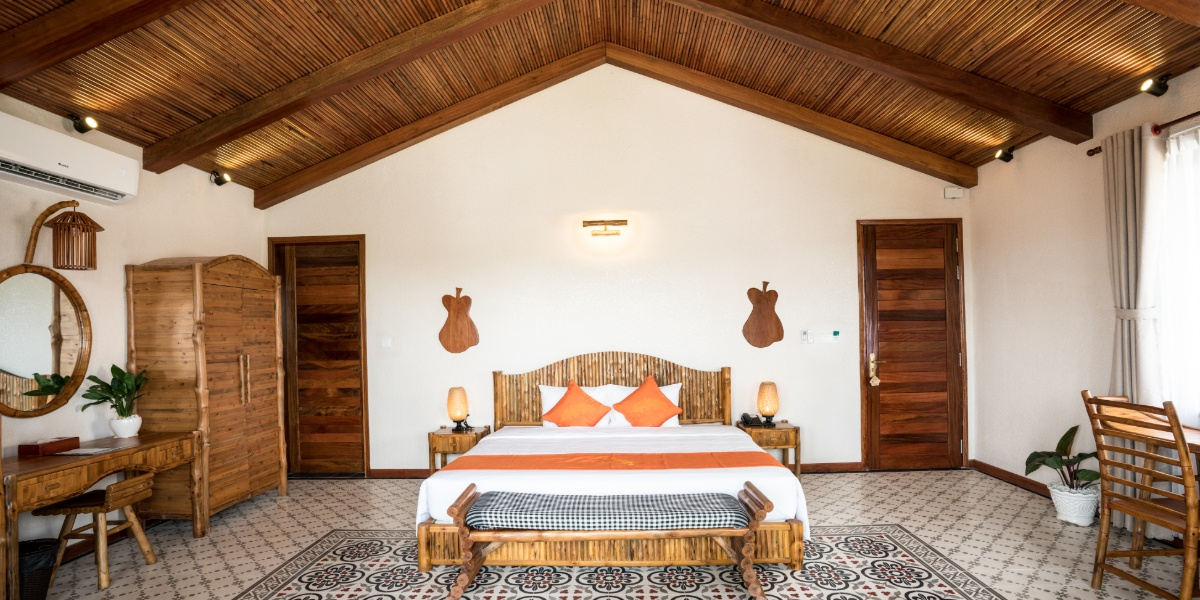 Chambre Can Tho Ecolodge